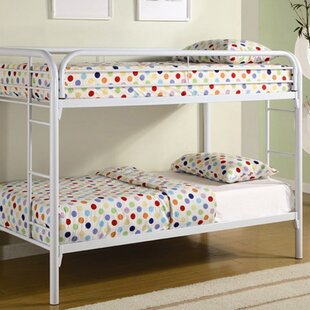 Fields Twin Over Twin Bunk Bed by Wildon Home® Coupon