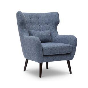 Check Prices Grabowski Wingback Chair ByIvy Bronx