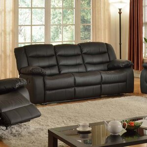 Casta Reclining Sofa by Living In Style