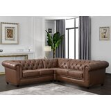 Illinois Chesterfield Sectional by Williston Forge