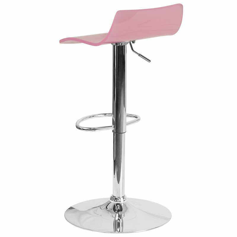 Tremendous Outen Low Back Adjustable Height Swivel Bar Stool Pabps2019 Chair Design Images Pabps2019Com