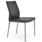 Pasha Upholstered Side Chair in Black by sohoConcept
