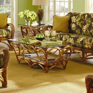 Abha 2 Piece Coffee Table Set Bayou Breeze