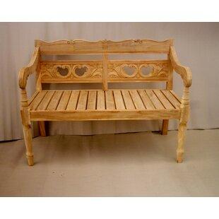 Proulx Teak Garden Bench