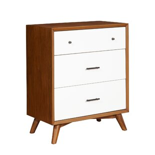 Parocela Two-Tone 3 Drawer Chest