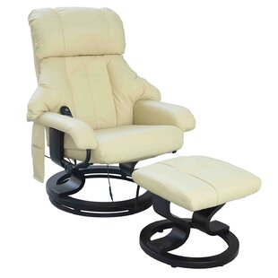Massage Recliner And Footstool By Symple Stuff