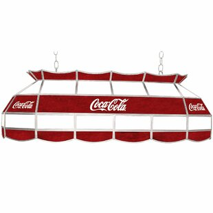 Trademark Global Coca Cola Pool Table Light