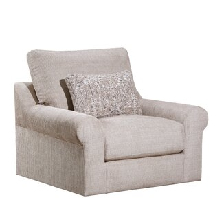 Charlton Home Izaiah Swivel Armchair