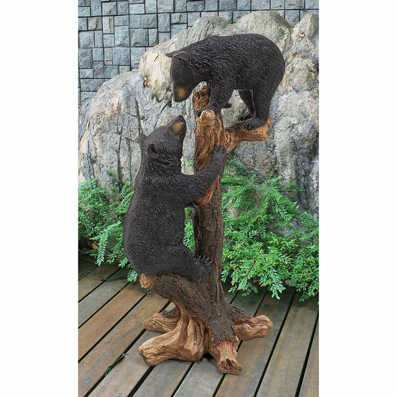 Relatively Outdoor Bear Statues | Wayfair GP55