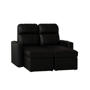Leather Home Theater Row of 2 (Set of 2) by Red Barrel Studio