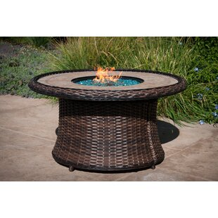 Lovett Aluminum Propane Fire Pit Table