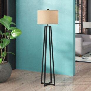 Reviews Brimer 62 Floor Lamp By Mercury Row