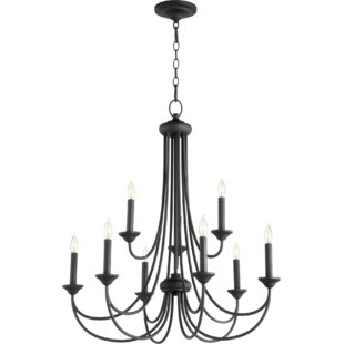 Hewlett 9-Light Candle Style Chandelier