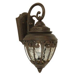 Charlton Home Brouwer Outdoor Wall Lantern