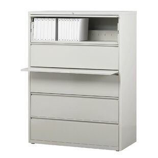 Symple Stuff Kissena 5 Drawer Lateral Filing Cabinet