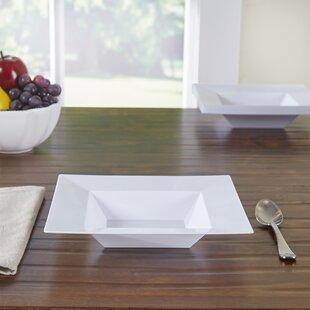 Wayfair Basics Square Plastic Salad Bowls (Set of 120)