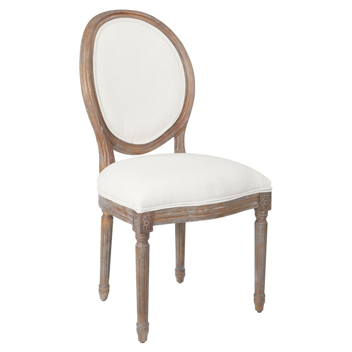 buy popular 52439 ecec9 Haleigh Oval Back Upholstered Dining Chair