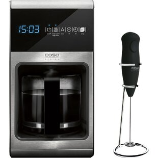 CasoDesign 10-Cup Filter Coffee Maker