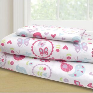 Mervin 3 Piece Garden Party Sheet Set