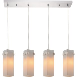 CWI Lighting Hype 4-Light Kitchen Island Pendant