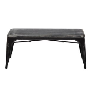 Selene Wood/Metal Bench by Williston Forge