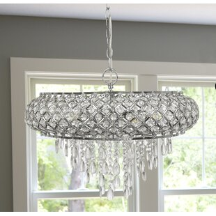 Mercer41 Hoang Tiered 5-Light Chandelier