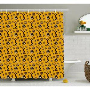 african woman shower curtain | wayfair