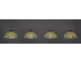 Red Barrel Studio Bierce 4-Light Billiard Pendant