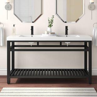 Flemming 60 Double Bathroom Vanity Set