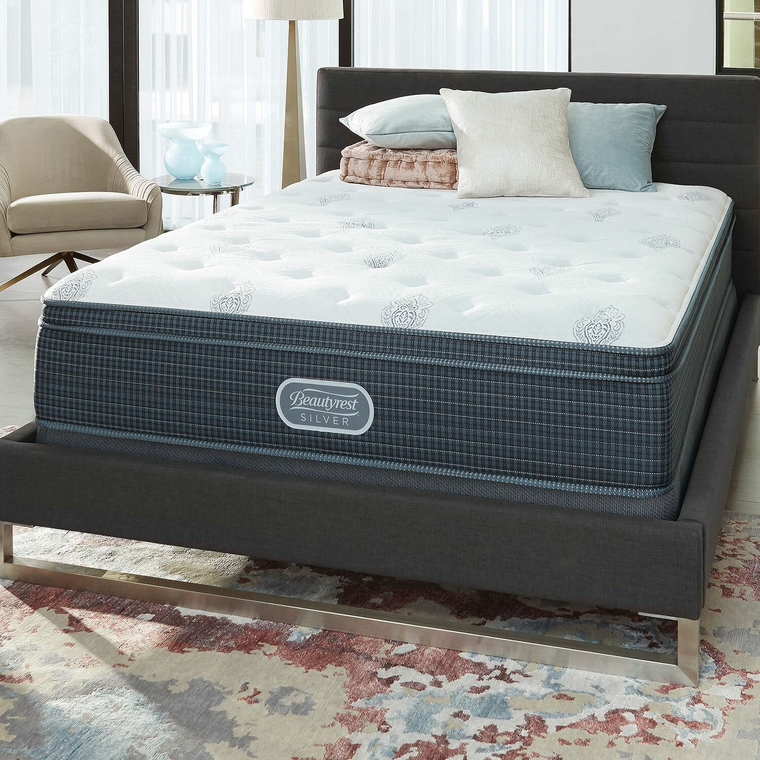 Simmons Beautyrest Beautyrest Silver 12 Medium Innerspring Mattress