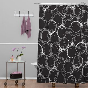 Rachael Taylor Circles Single Shower Curtain