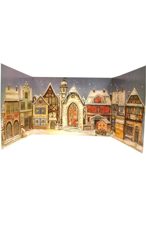1946 Village Square Advent Calendar