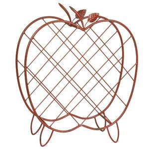Weinregal Metal Apple für 11 Fl. von Castleton Home