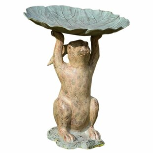 SPI Home Rabbit Birdbath