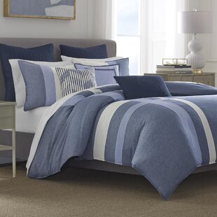 Nautica Waterbury 100% Cotton 3 Piece Duvet Set
