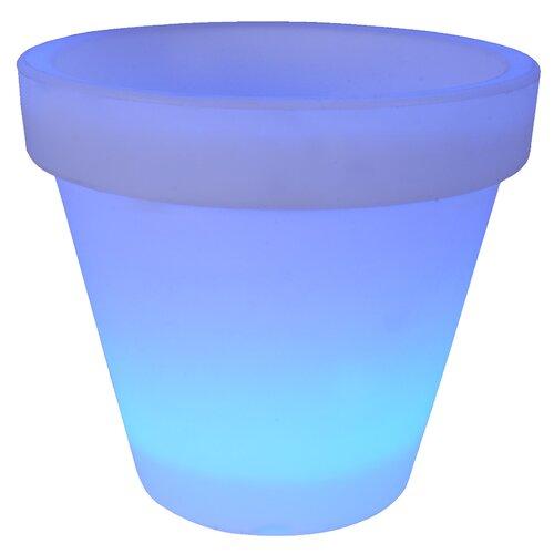 Übertopf Home Loft Concept Farbe: Blau  Größe: 32 cm H x 35 cm W x 35 cm D   Garten > Pflanzen   Home Loft Concept