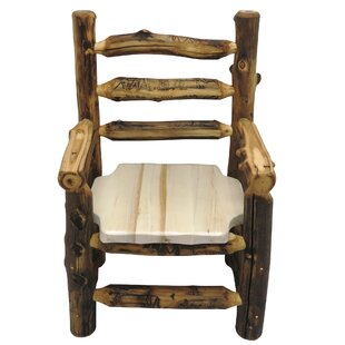 Aspen Grizzly Solid Wood Dining Chair