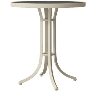 Tropitone Raduno Round Aluminum Bar Table