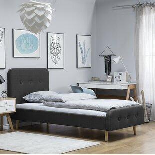 Winkler European Single Upholstered Platform Bed By Mikado Living