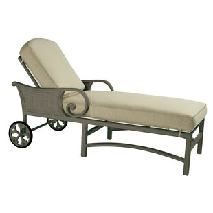 Leona Riviera Chaise Lounge with Cushion