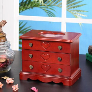 Order Valentine Heart Jewelry Box By Wildon Home ®