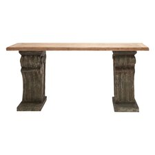 Rustic Wood Console Table by Cole & Grey