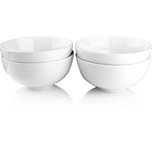 Melange 6 Piece Melange Coupe Porcelain Soup Bowl Set Wayfair