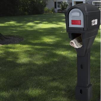 Qualarc Westhaven Lewiston Mailbox With Post Included Wayfair
