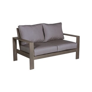 Gracie Oaks Potsdam Loveseat with Cushions
