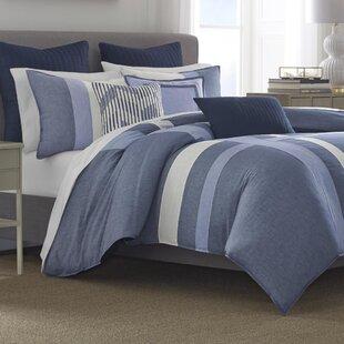Waterbury 100% Cotton 3 Piece Reversible Comforter Set