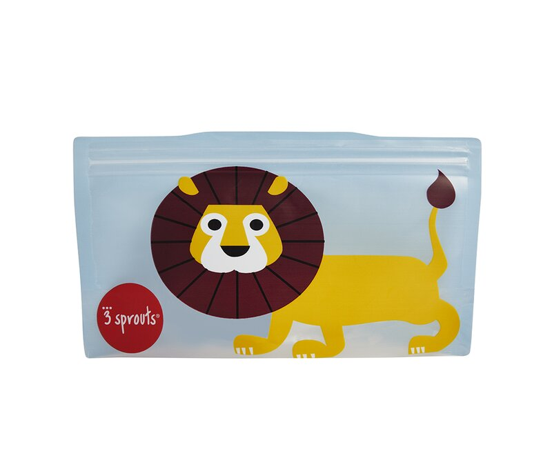 3 Sprouts Lion Snack Bag