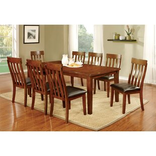 Dunham 9 Piece Dining Set Hokku Designs