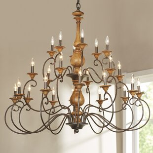Lark Manor Turcot 24-Light Chandelier