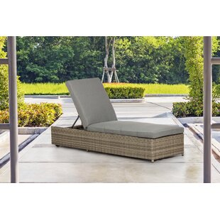 Malge Sun Lounger With Cushion By Sol 72 Outdoor